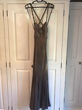 LADIES DAVE & JOHNNY BALL GOWN BY LAURA RYNER   PROM OR EVENING DRESS SIZE 3/4