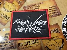 Roger Waters The Wall patch