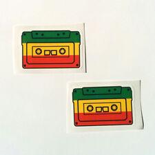 Rasta Sticker Set Vinyl Decal Bob Marley Irie Jah Ethiopia 420 Car Reggae Music