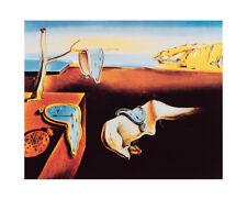 Salvador DALI - Persistance of Memory Uhr 40x50 Kunstdruck Poster Plakat Bild