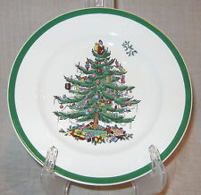Spode Christmas Tree Salad Plate Made in England