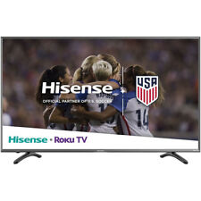 Hisense - 50R7080E - Roku Smart 50-Inch 4K Uhd Tv with Hdr - Black