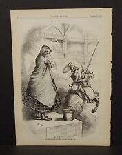 Harper's Weekly 1Pg Injured Innocence Souther Chivalry Not Dead Yet  1876  B7#12