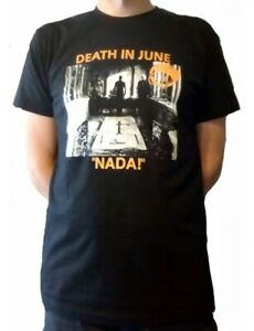 Death In June Nada! Official T Shirt New XL Goth Neofolk Industrial