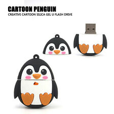 Hot New Style Cute Penguin USB Flash Drive 4GB Memory Stick U Disk Free Shipping