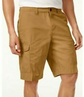 """Tommy Hilfiger Mens Designer 10"""" Cargo Shorts 100% Cotton Chino Size 33 or 34"""