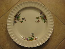 "Large Vintage Spode Wicker Lane Platter Plate, 13"" Diameter X 1 1/2"" High"