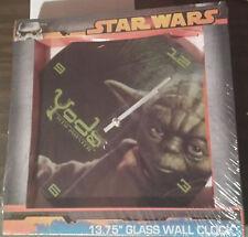 NEW Star Wars Yoda Wall Clock 13.75 inches New in box