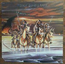 Ginger BAKER GURVITZ ARMY s/t LP Cream JANUS Records VG++ vinyl w/ inner 1st US!