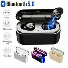 Auriculares Bluetooth V5.0 inalámbricos TWS estéreo 5D mini Auricular deportivos