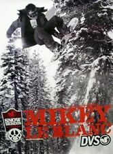 DVS 2006 snowboard Mikey LeBlanc 2 sided poster NEW Old Stock Mint Condition