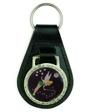 TINKERBELL FAIRY LEATHER KEYRING