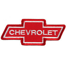 CHEVROLET Embroidered Patch Embroidery Chevy Motor Emblem Mark 98x40mm Red