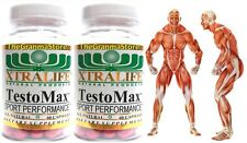 2 TESTO-MAX EXTRA MONSTER MUSCLE GAINS ENHANCED Sex Drive & Performance andro
