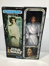 "Vintage Star Wars 12 inch Series Princess Leia Organa 12"" New In Sealed Box Mint"