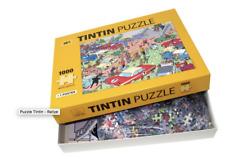 Puzzle Tintin - Rallye Puzzle avec poster. MOULINSART 81546. NEUF