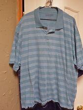 Men's 3x / 19 Golf / Polo shirt Pull over grayish blue RGS16