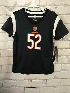 Khalil Mack #52 Chicago Bears Football Jersey - Size Girls Small 6/6X