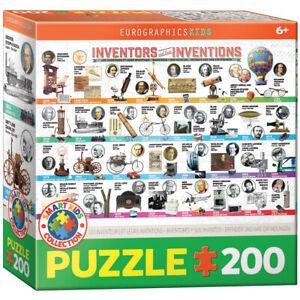 Eurographics 6200-0724 Erfinder und ihre Erfindungen 200 Teile Puzzle