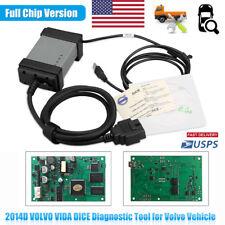 2014D VOLVO VIDA DICE EOBD OBDII Code Reader Auto Car Fault Diagnostic Scan Tool