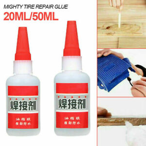 Mighty Tire Repair Tyre Glue Fast Repair Bike Car Patch Glue Welding Oil L4Q5