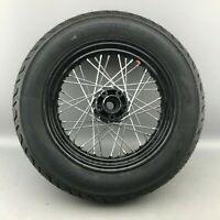 "Harley Davidson Hinterrad Speichenfelge Felge 16"" Zoll T 16-3,00 + Dunlop"