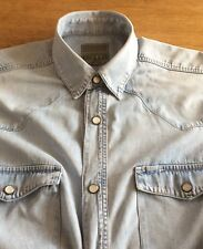 Da Uomo Vintage Denim Camicia da.. 16.5 ESPRIT Collare M