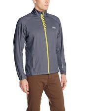 Helly Hansen Men's Pace Training Jacket 3-Layer Microfiber Grey NEW $100 L