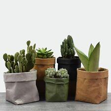 Flower Pots Paper Planting Nursery Bag Kraft Seed Basket Garden Cup Starters Kit