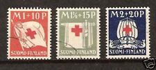 FINLAND # B-2-4 Used Red Cross Ship Mercy Symbolic