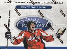 2012-13 Panini Certified Hockey Hobby Box