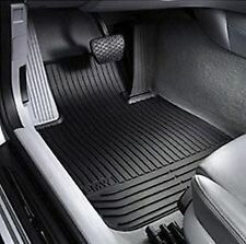 BMW X5 SAV E53 Rubber All Weather Mats FRONT Black 82550151189