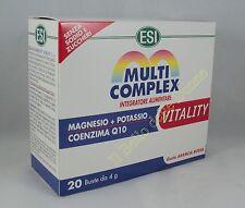 ESI MULTICOMPLEX Vitalidad 20 sobres suplemento mineral magnesio potasio Q10