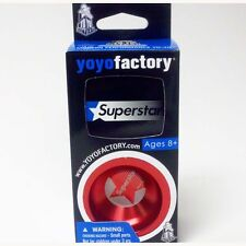 YoYoFactory SuperStar Yo-Yo -New Design- Red