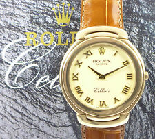 ROLEX Cellini 6623 18ct Gelbgold Quartz grosses Modell mit Zertifikat & Booklet