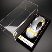 Look Smart 1:43 Scale FERRARI MONZA SP1 Silver Resin Car Model Collection