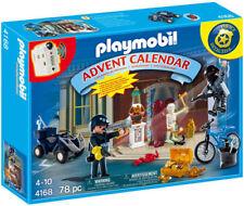 Playmobil #4168 Police Museum Break In Advent Calendar NIB NEW