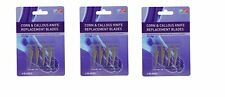 Ever Ready Corn & Callous Knife Replacement Blades (TRIPLE PACK)
