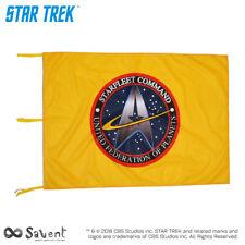 OFFICIAL STAR TREK STARFLEET COMMAND YELLOW FLAG cm. 100x150
