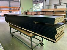 Black  - Crystal Finish - NEW laminate benchtop 3600x595x33mm