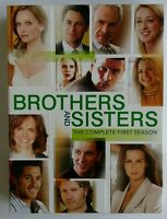 Brothers & Sisters The Complete First Season (DVD 2007 6-Disc Set) Complete VGC