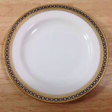 Antique Spode Copeland Majestic 1 Bread Butter Plate Gold Cobalt Chain 1900s