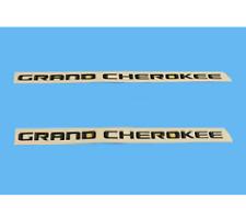 2016 Jeep Grand Cherokee Front Door GRAND CHEROKEE Emblem Nameplate Mopar (2)