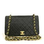 CHANEL Quilted Matelasse 23 Full Flap CC Logo Lambskin Chain Shoulder Bag /F0142