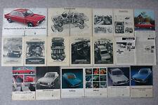 20 Seiten Original Werbungen VW K70 (Volkswagen, K 70)