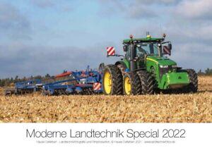Traktor-Kalender 2022 JOHN DEERE Landtechnik Special    (NEU & OVP)