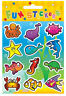 6 Sealife Sticker Sheets - Pinata Toy Loot/Party Bag Fillers Wedding/Kids