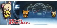 San-X Rilakkuma Korilakkuma Cute Decoration Mascot Sticker Hook (504120)