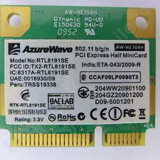 AZUREWAVE AW-NE104H Wireless-N 802.11b/g/n PCIe Mini Card 300Mbps network adapte