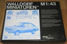 WALLDORF MINIATUREN 1977 TOYOTA COROLLA JUBILEE 1:43 METAL KIT